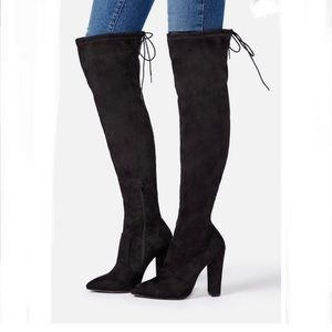 JUSTFAB Cara Stretch Over-the-knee Boot